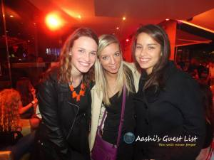 A fun night back at Opium Mar back in January & thanks to Aashi Guest List!